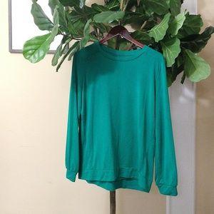 Loft - Green Sweater (large)